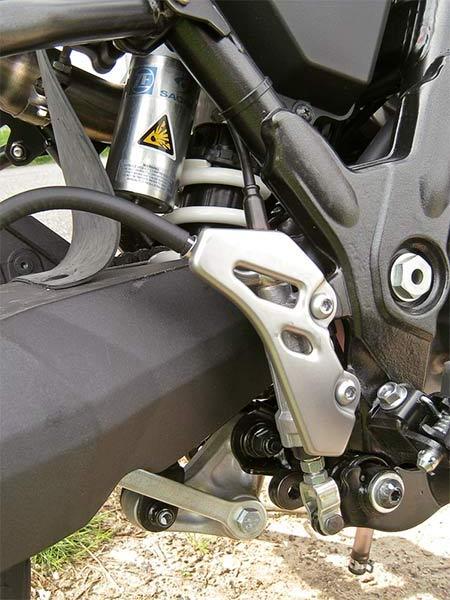 Yamaha Tenere detail